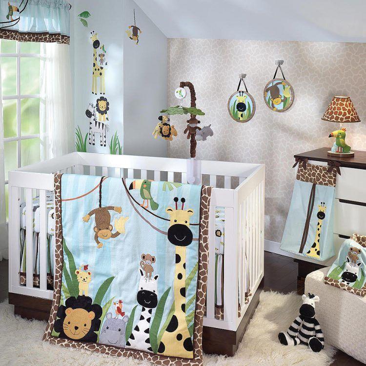 20 Adorable Cartoon Themed Nursery Ideas Baby Bedding Sets Jungle Crib Bedding Boys Crib Bedding Sets