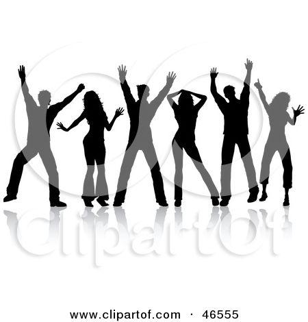 Clip Art of People Line Dancing – Clipart Download