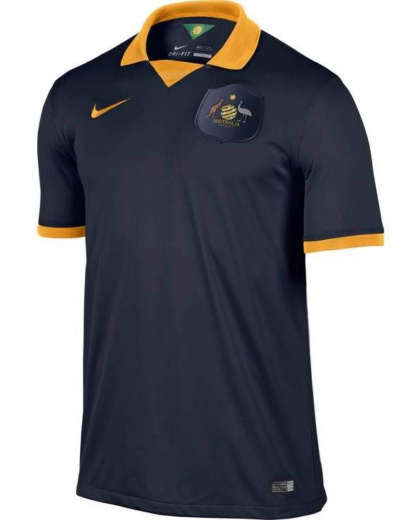Nice Day Sports  Australian Away Soccer Jersey Football Shirt for B ... 9e57730c71359