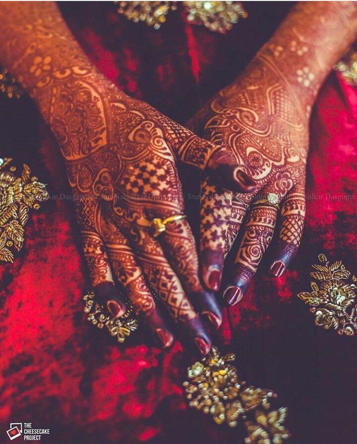 Pin by sime on Heena | Wedding mehndi designs, Henna ...