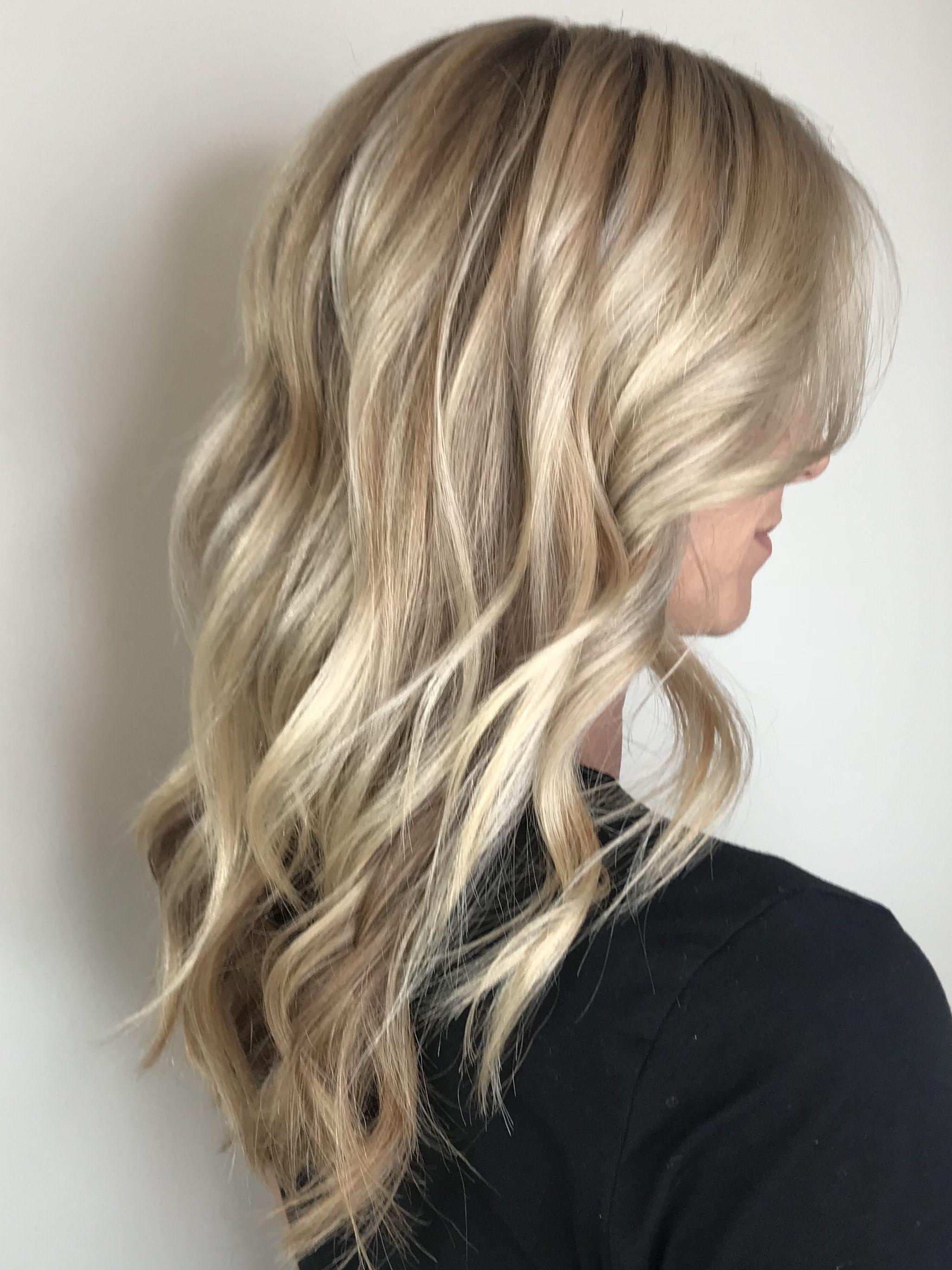 Blonde Hair Balayage Balayage Hair Blonde Medium Length Blonde Balayage Hair