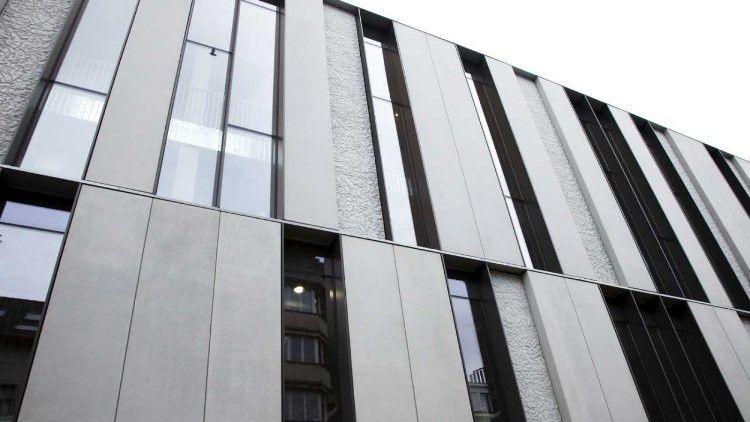Precast Concrete Cladding Sheets : Precast concrete cladding textured panel decomo a