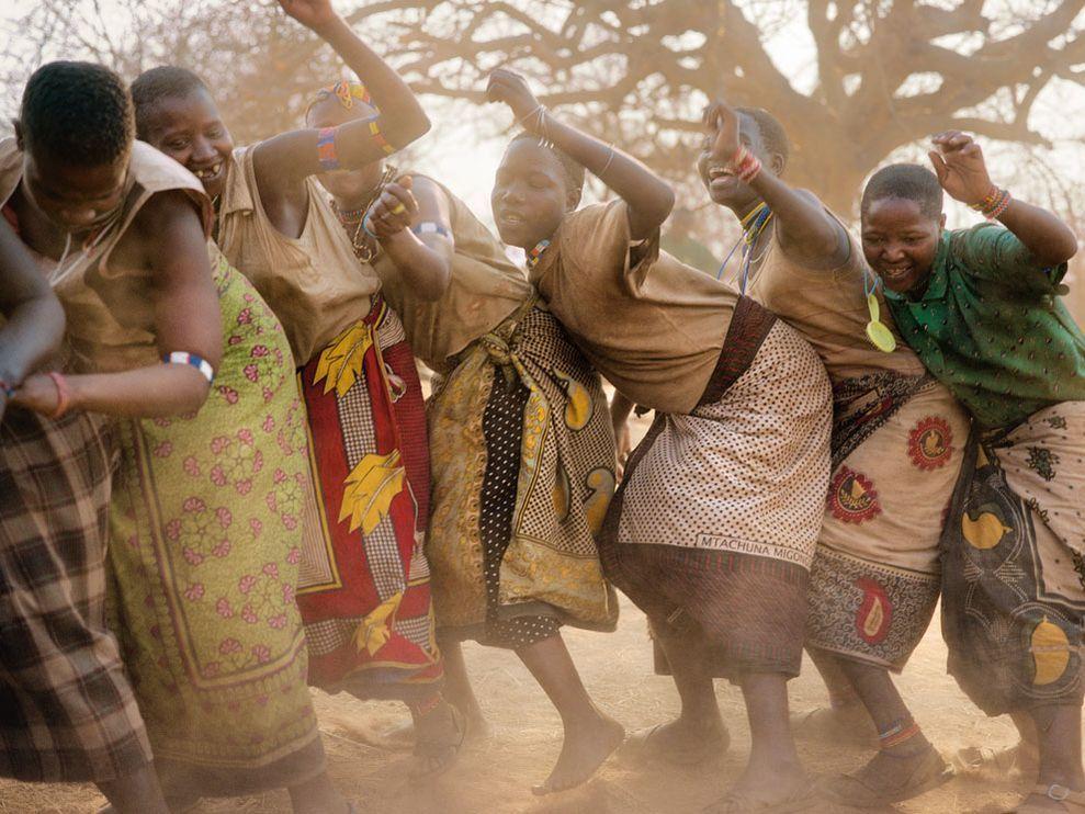 Hadza Dance, Tanzania
