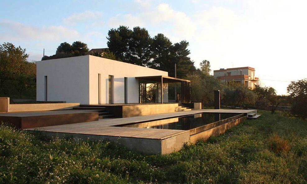 Cianciana Ag Italia Villa B D Cottone Indelicato Architects