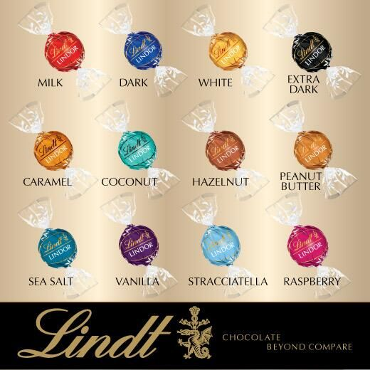 Lindt Truffles Color Guide Google Search