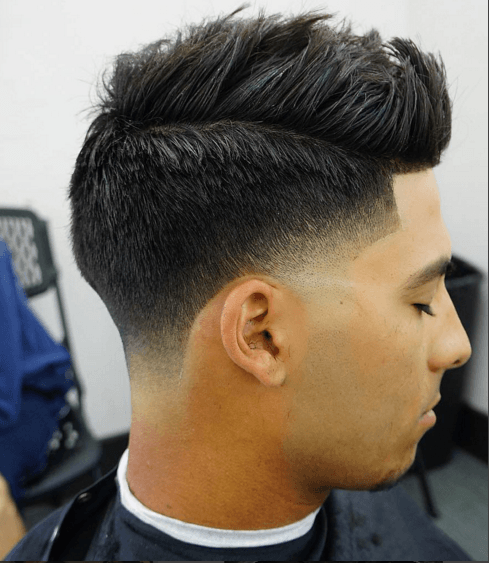 comb over hairstyle manne hair
