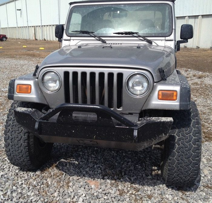 IRON CROSS 1997-2006 JEEP WRANGLER FRONT BASE BUMPER
