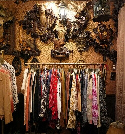 Grimoire Almadel A Vintage Boutique In The Shibuya District Of Tokyo Japan Store Decor Gothic House Charming Clothes