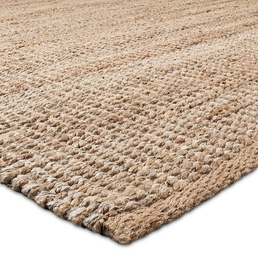 Area Rug Silver Lurex Natural Threshold Target Our