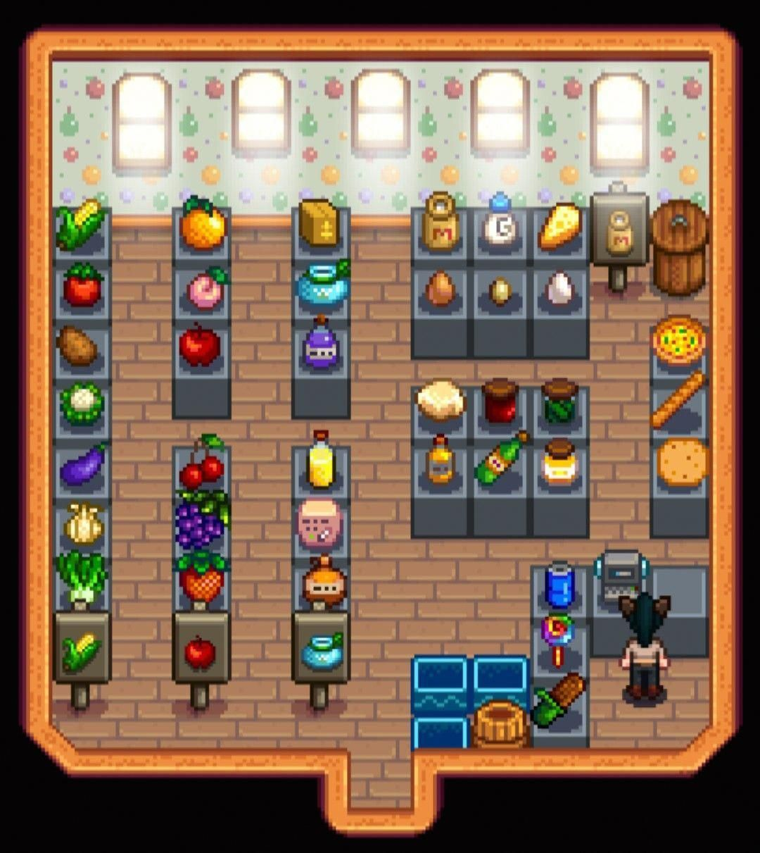 When Pierre Says Don T Get Any Ideas Stardew Valley Shed Design Layout Pierre S General Store Stardew Valley Stardew Valley Layout Stardew Valley Tips So i play with a cp buffet of dialogue mods and realised when watching yt videos… how much vanilla pierre sucks. stardew valley shed design layout