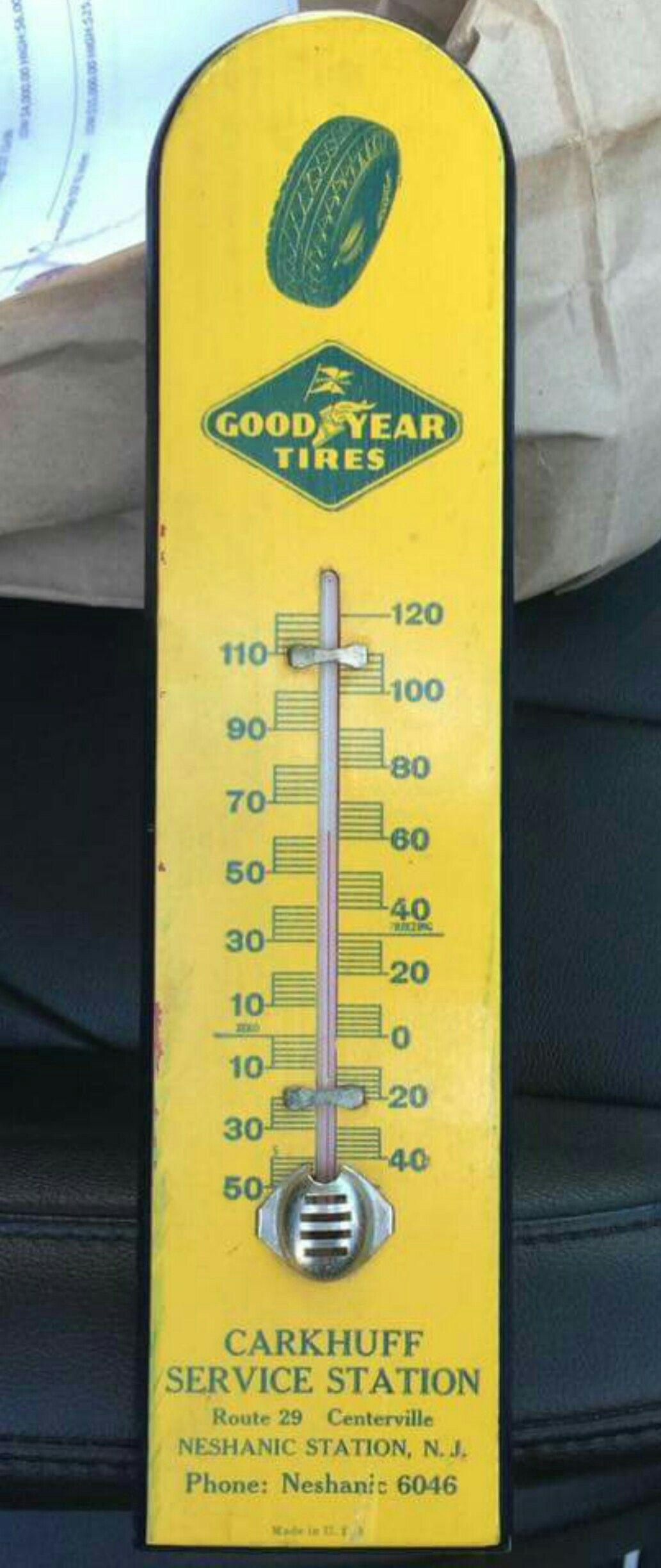 Thermomètre Métal GOODYEAR TIRES