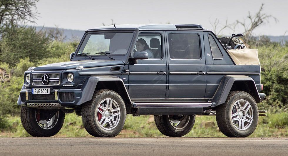 Final Mercedes Maybach G650 Landaulet To Be Auctioned For Charity Carscoops Mercedes Maybach Maybach Mercedes