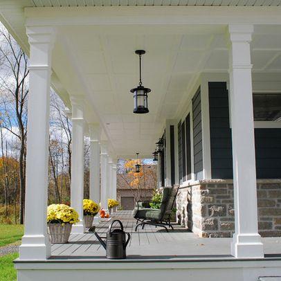 Deck Skirting Ideas Porch Post Design
