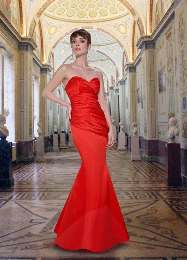 1355a2e74f6 Da Vinci Bridesmaid 9263 Fabric Satin  timelesstreasure