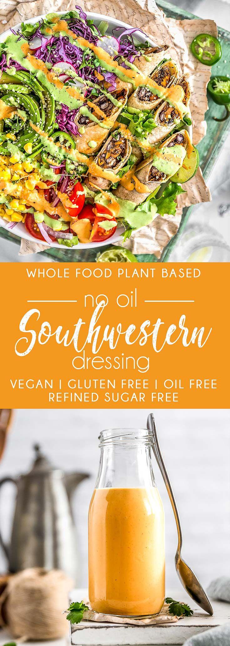 No oil southwestern dressing recipe vegan sauces