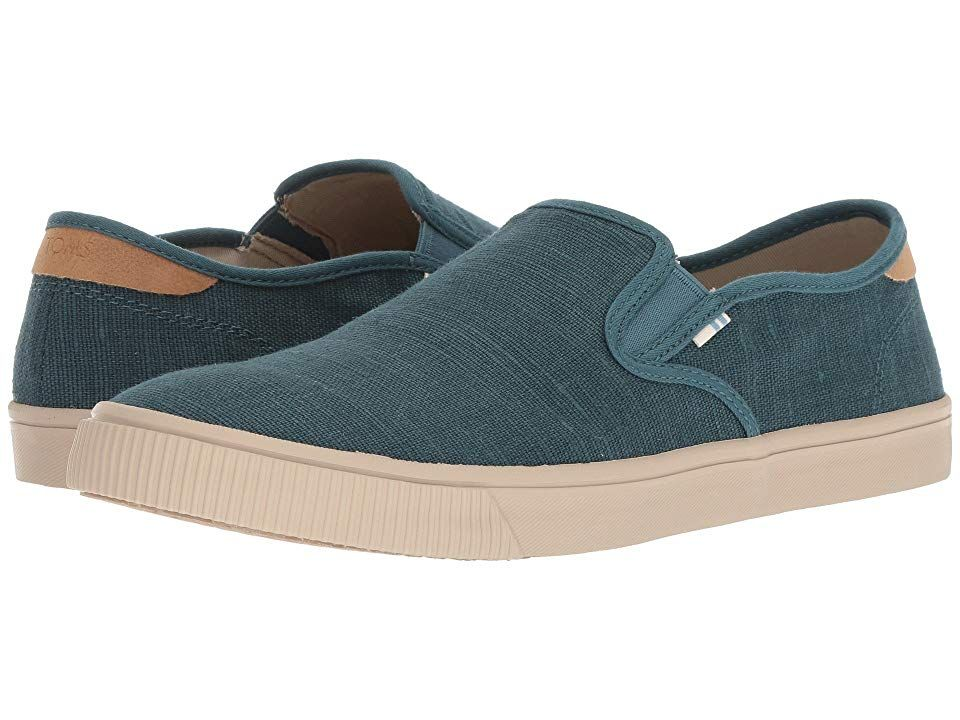 cbd1d892587ff0 TOMS Baja (Atlantic Heritage Canvas) Men's Slip on Shoes. With every pair  of shoes you purchase TOMS will give a new pair of shoes to a child in need.