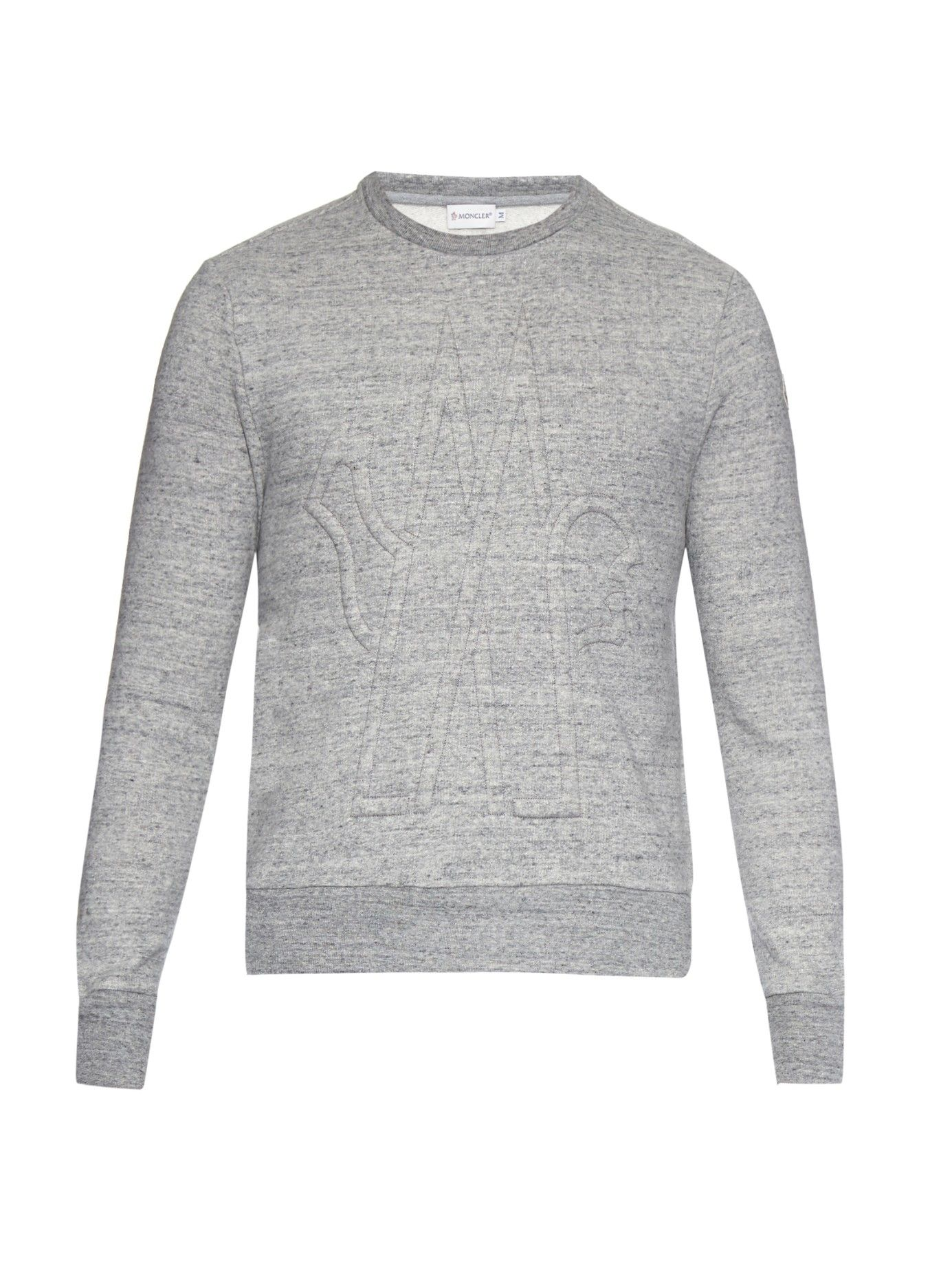 06aeec7c21a5 3D-logo embroidered sweatshirt