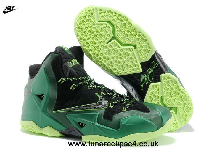Nike Lebron 11 Authentic For Sale P.S. Elite Dark Green Black 616175 032