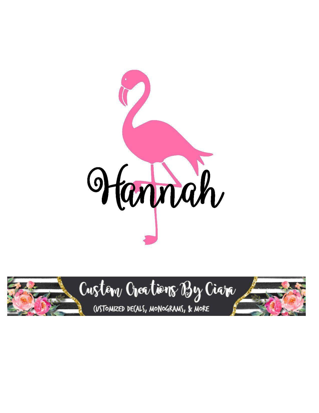 Flamingo Name Decal Flamingo Monogram Decal Flamingo Cup Etsy Monogram Decal Flamingo Flamingo Cup [ 1650 x 1275 Pixel ]