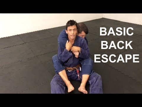 Brazilian Jiu Jitsu Basic Back Escape Port Saint Lucie FL Brazilian Vale Tudo Academy