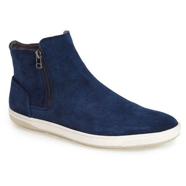 Mens Boots Calvin Klein West Indigo Suede