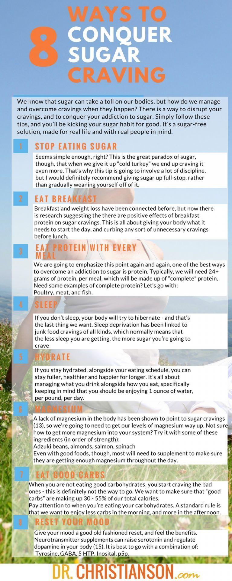 8 Astonishing Ways to Conquer Sugar Cravings   Dr. Alan Christianson
