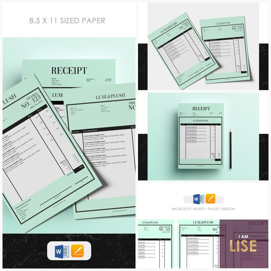 This Item Is Unavailable Etsy Receipt Template Templates Graphic Design