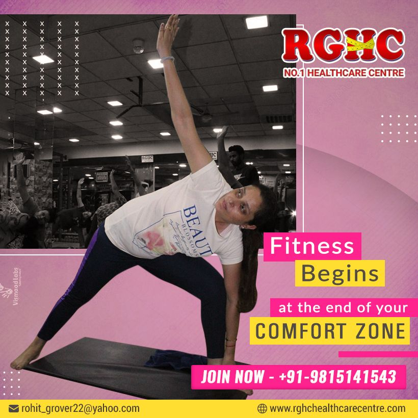 Fitness begins at the end of your comfort zone by joining