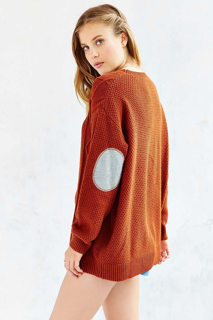 BDG Elbow Patch Sweater - Urban Outfitters  71a389e3b