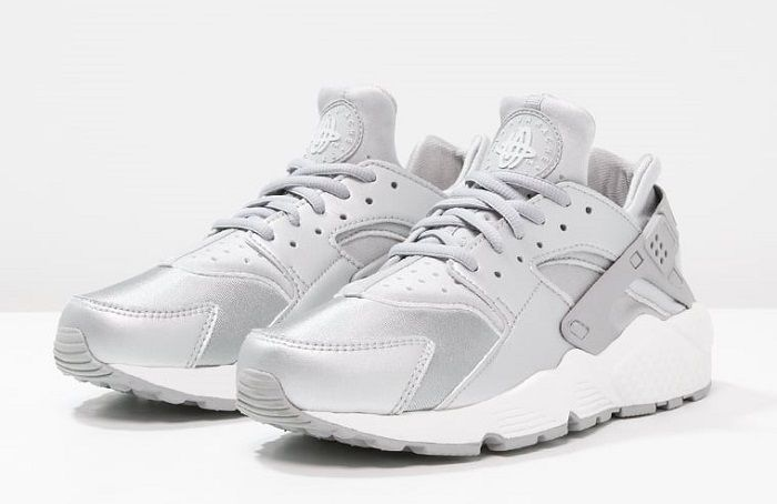 Nike Sportswear AIR HUARACHE RUN SE Baskets basses metallic silver/matte  silver/pure platinum