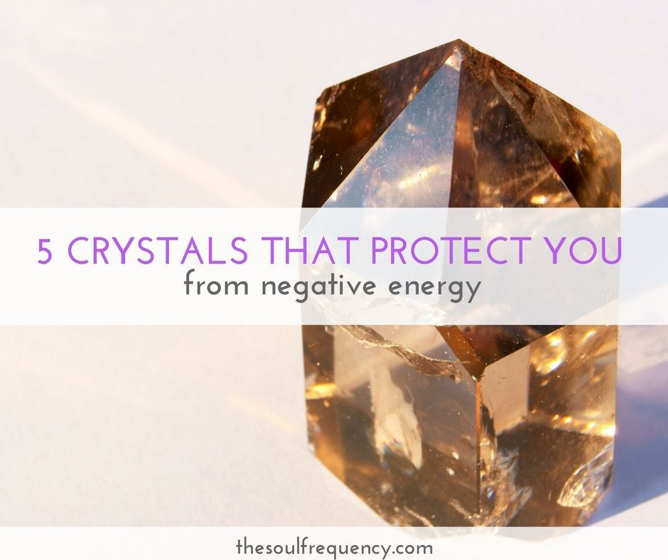 how to protect your energy with crystals