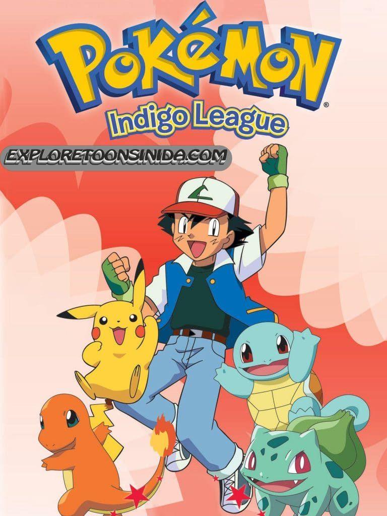 Poke Mon Season 1 Indigo League Hindi Dubbed Episodes Download Exploretoonsindia Pokemon Indigo League Pokemon Season 1