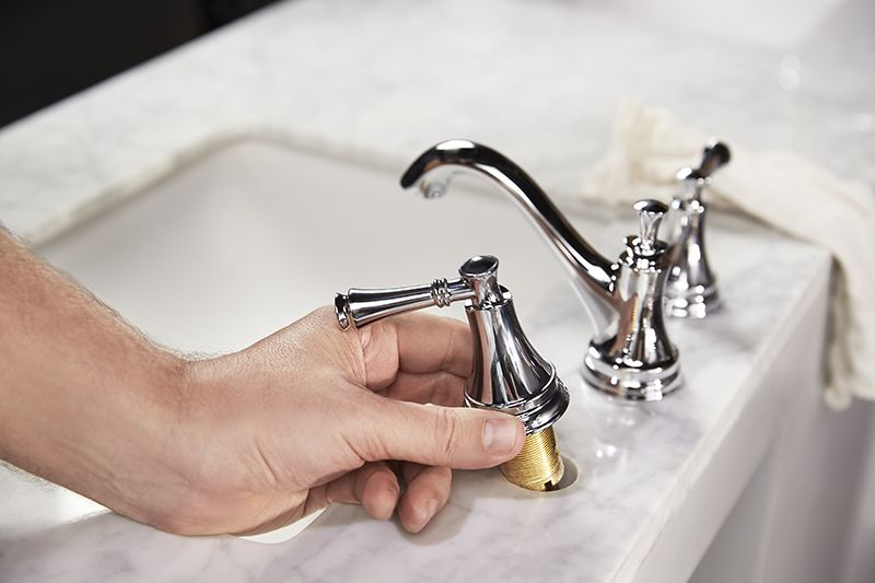 How To Update Your Vanity And Faucet Vanity Faucet Faucets Diy Faucet