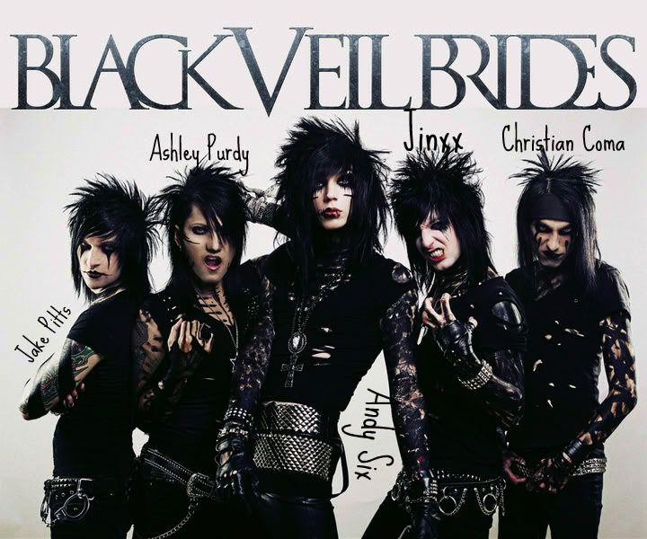 Black Veil Brides Black Veil Black Veil Brides Andy Black Veil Brides