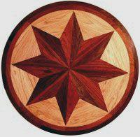 Wood Floors By Wicks Hardwood Medallion Inlays Farmington Mo