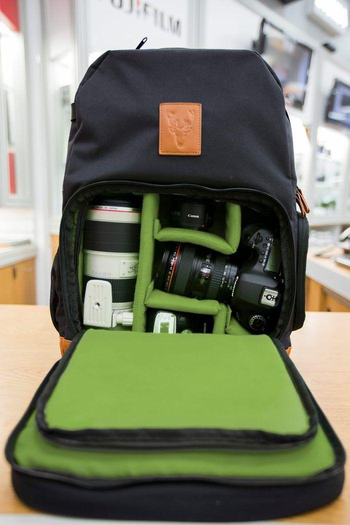2fdf87525f3e The camera compartment will comfortably fit a DSLR