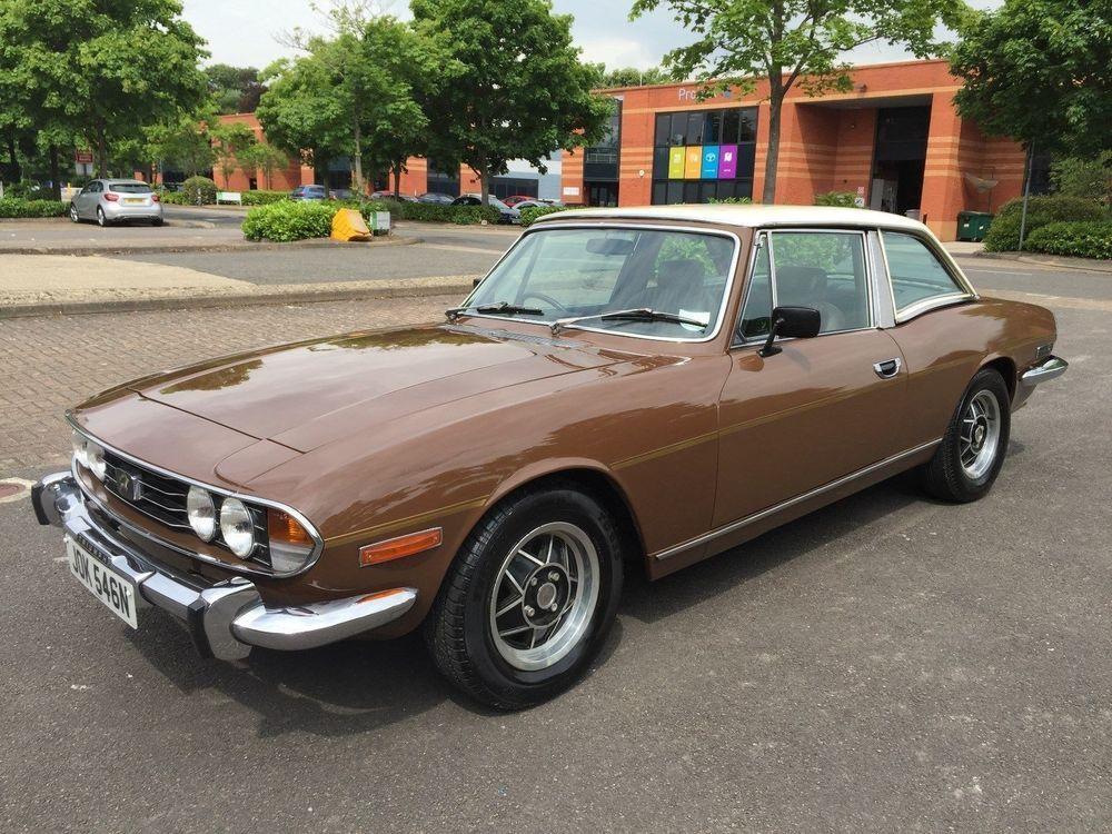 eBay: Triumph Stag V8 Auto #classiccars #cars | UK Classic Cars ...