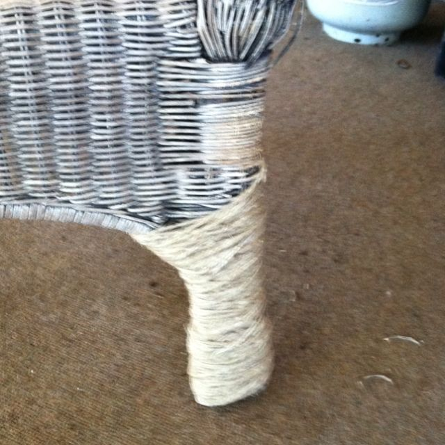 Tremendous Use Hemp To Fix Fraud Wicker Chair Legs Easy And Cheap Fix Ncnpc Chair Design For Home Ncnpcorg