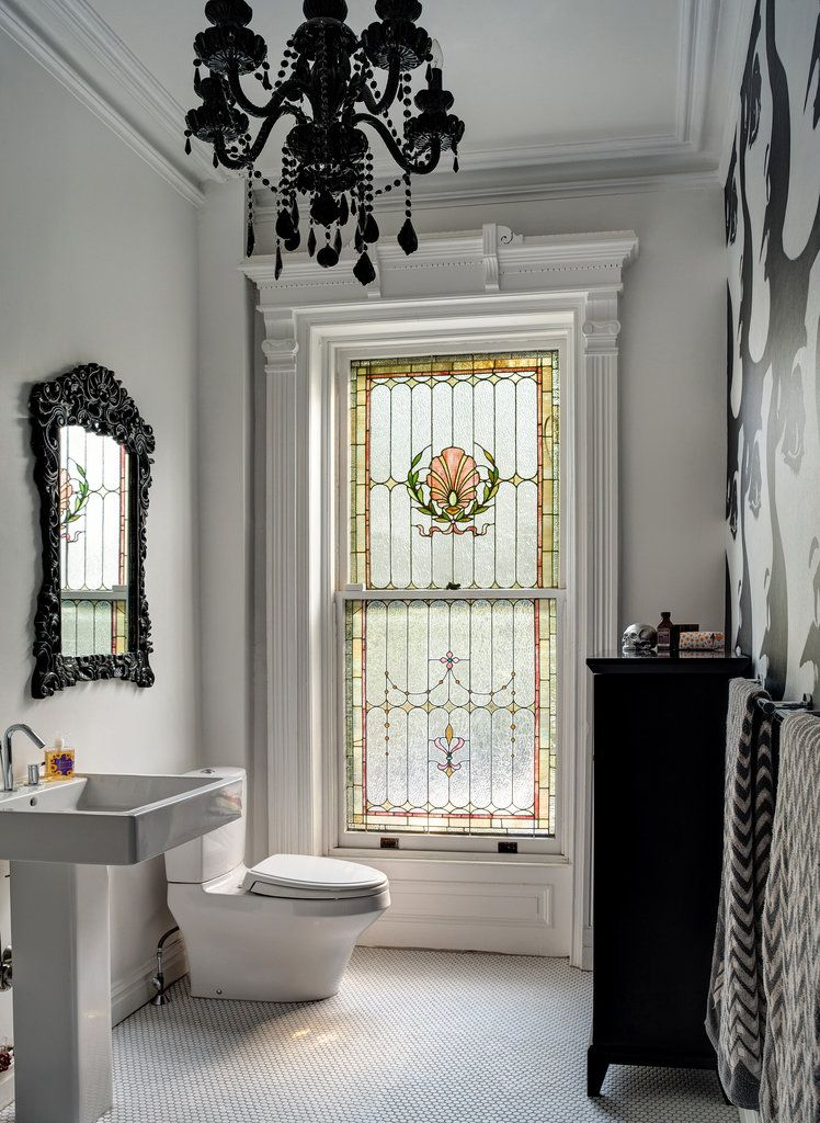 Most Beautiful Bathroom Bathroom Chandelier Beautiful