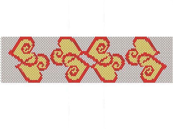 LOLLIPOP Bracelet PDF pattern by EsotericBeads on Etsy