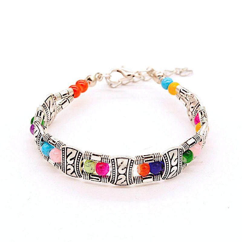 La vie en or bracelet femme