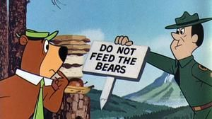 Do not feed the bears yogi bear the most famous resident of