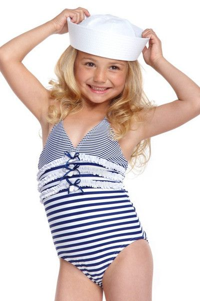 Tiny little bikini model