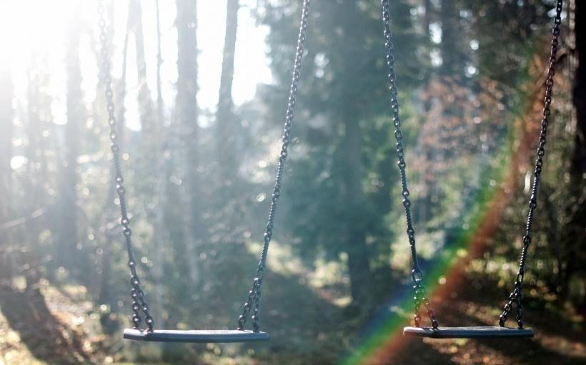 The two swings.