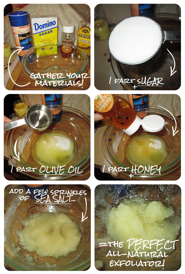Make Your Own Exfoliator With Ingredients From Your Kitchen - Kouturekiss - Your One Stop Everything Beauty Spot - kouturekiss.com