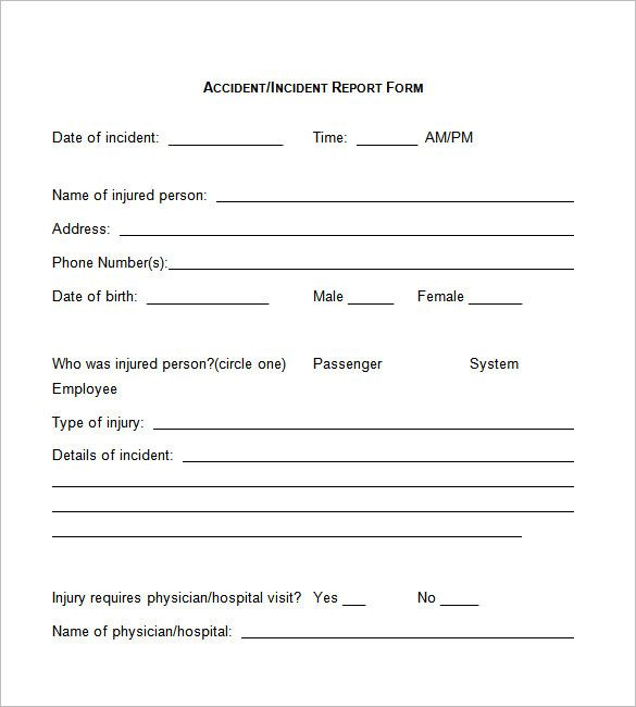 Free Colorado Boat Bill of Sale Form - Word PDF eForms u2013 Free - incident report templates