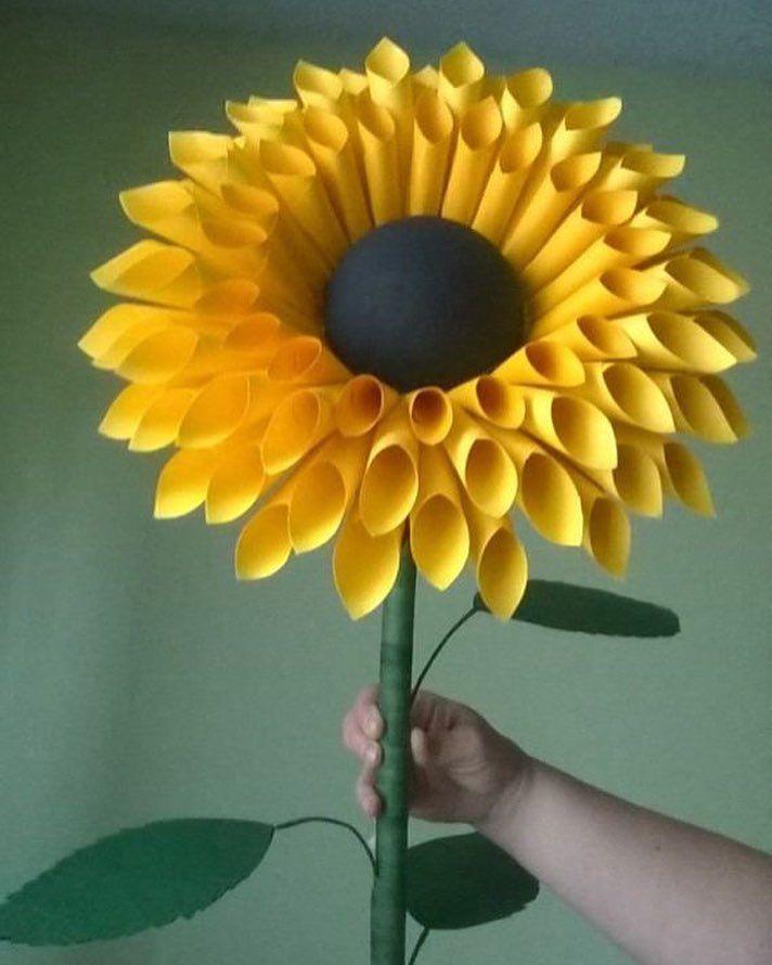 Crafts Bunga Bunga Kertas Bunga Buatan