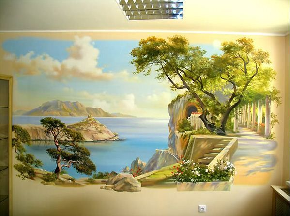 Сергей Брандт. Роспись стен. Одинадцатая. Wall MuralsWall Mural PaintingWall  ... Part 79