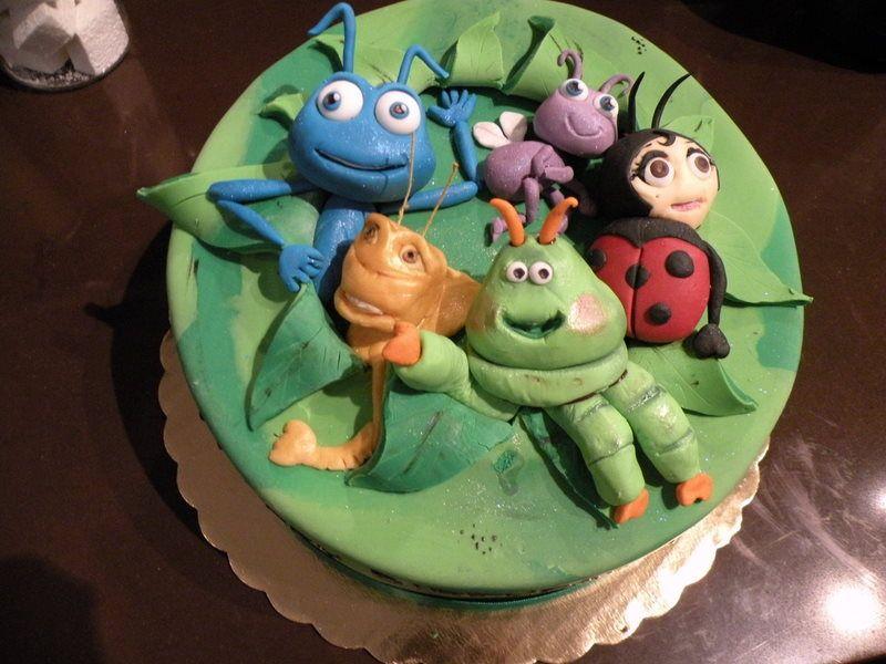 Custom Cake Denver A Bugs Life Cake idees Pinterest Custom