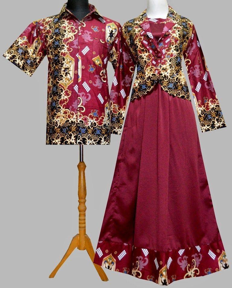 Model Gamis Batik Untuk Orang Gemuk Agar Terlihat Kurus Yang Baru